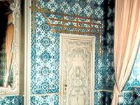 Badekabinett im Sommerappartement von Schloss Augustusburg