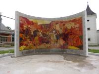 Endzustand des Mosaiks im Stift Heiligenkreuz