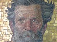 Detail des Mosaiks